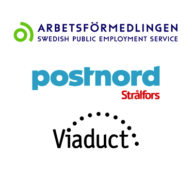 Arbetsförmedlingen, PostNord Strålfors, Viaduct
