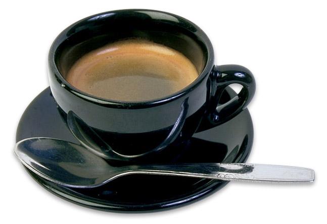 En kopp kaffe p� Viaduct webbyr� i Eskilstuna